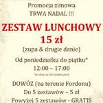 lunch promocja